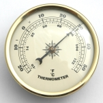 Thermometer 70mm Ivory Face