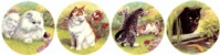Cats Life Set of 4 (150mm)
