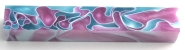 [PBAPAWR] Acrylic Pen Blank Pink Aqua With White Ribbon