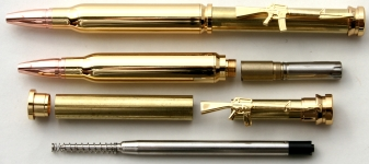 [PENBULLTGC] Bullet Twist Pen Kit