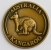 [SCARKG] Souvenir Coin Australia Red Kangaroo Antique Gold
