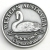 SCWABSS Souvenir Coin West Aust Black Swan Antique Silver