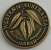 SCWAJG Souvenir Coin West Aust Jarrah Antique Gold