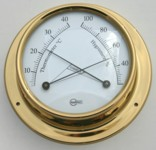 Ships Thermometer Hygrometer Surface Mount 85mm