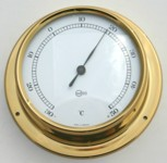 Ships Thermometer Surface Mount 70mm
