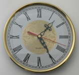 [WIC180CGGR] Clock 180mm Ivory Face Roman Numerals