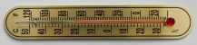 [WT133-24] Stick Thermometer 133x24mm