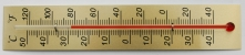 [WT185-35] Stick Thermometer 185x35mm