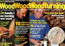 K - Woodturning & Woodcarving Magazine & Binder GMC Publication