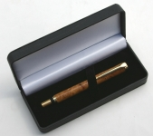 [PENBL] Pen Box DELUXE 2 Pen Black Leather